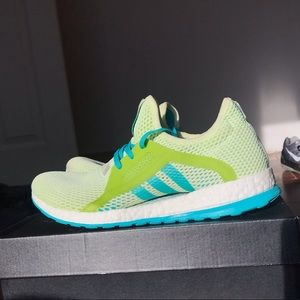 Adidas Pure Boost X Green,Blue,White
